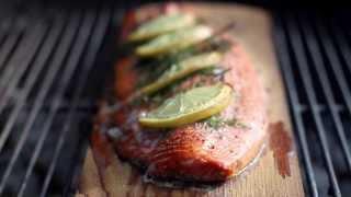 Cedar Planked Grilling