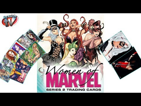 Women Of Marvel Series 2 Trading Cards Box Break, Rittenhouse Archives