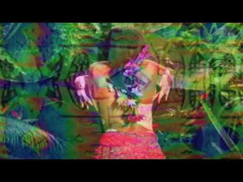 Tropical Glitch background