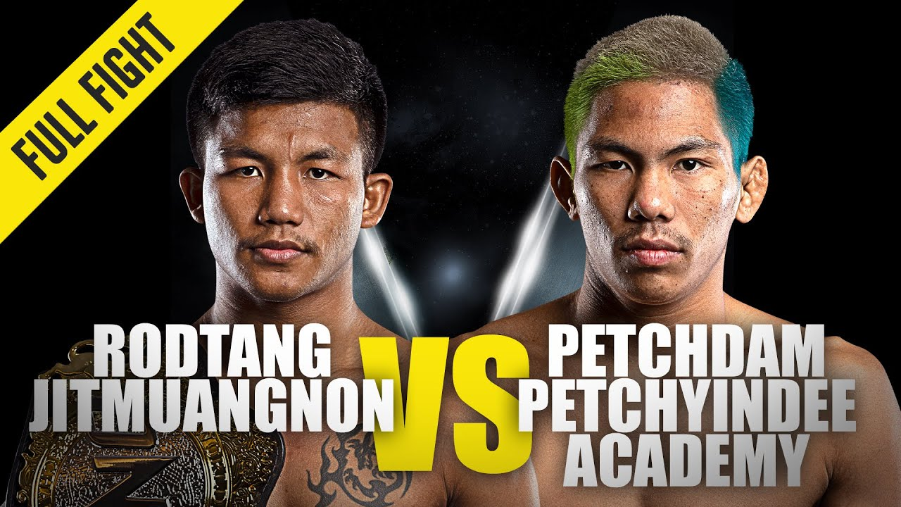 Rodtang vs Petchdam 3