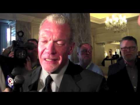 Jim Irsay On NFL Colts Fan David Letterman