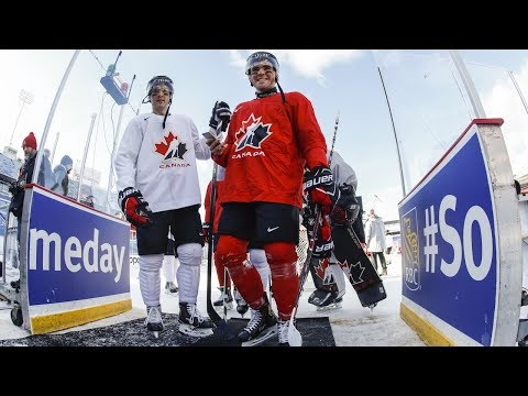 Canada prepares to face U.S. rivals outdoors at world juniors