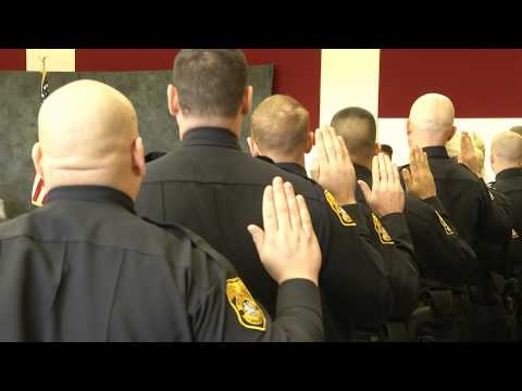 Tampa Police Department Swearing In Ceremony