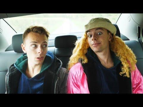 En akavet taxa tur med Ritta