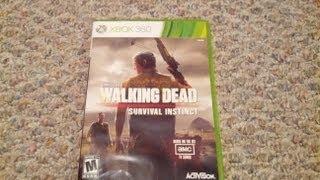 The Walking Dead Survival Instinct Unboxing (Xbox 360)
