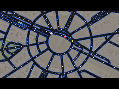 You Can Play Pac Man Inside Google Maps Right Now