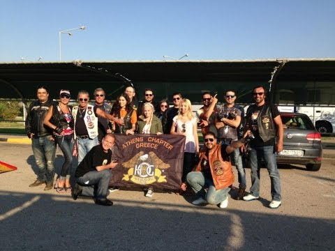 Harley Davidson - 110 years of freedom - Rome -  HOG  Athens Chapter goes to Rome!