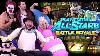 Playstation Allstars is AWESOME!