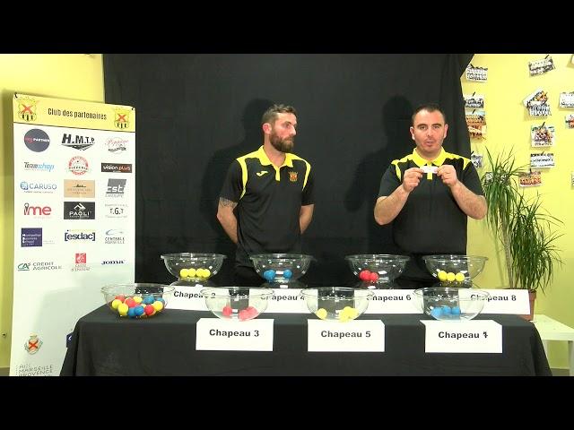 Tirage au sort Challenge National Claude Chaparteguy U9