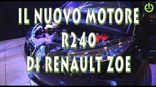 Il nuovo motore elettrico della Renault Zoe