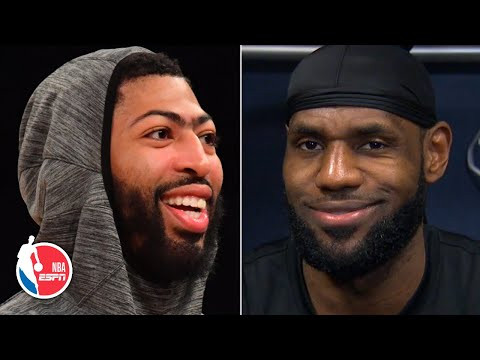 LeBron jokes about not picking Anthony Davis for NBA All-Star Game | NBA Sound
