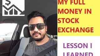 How I lose money in stock market - My real story