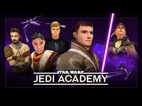 STAR WARS: Jedi Academy – The Movie / All Cutscenes + Story Gameplay 【1080p HD】