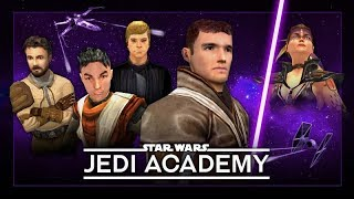 STAR WARS: Jedi Academy – Full Movie / All Cutscenes + Story Gameplay 【1080p HD】