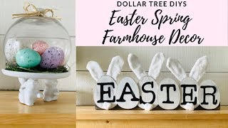 Dollar Tree DIY Easter Spring Farmhouse Decor