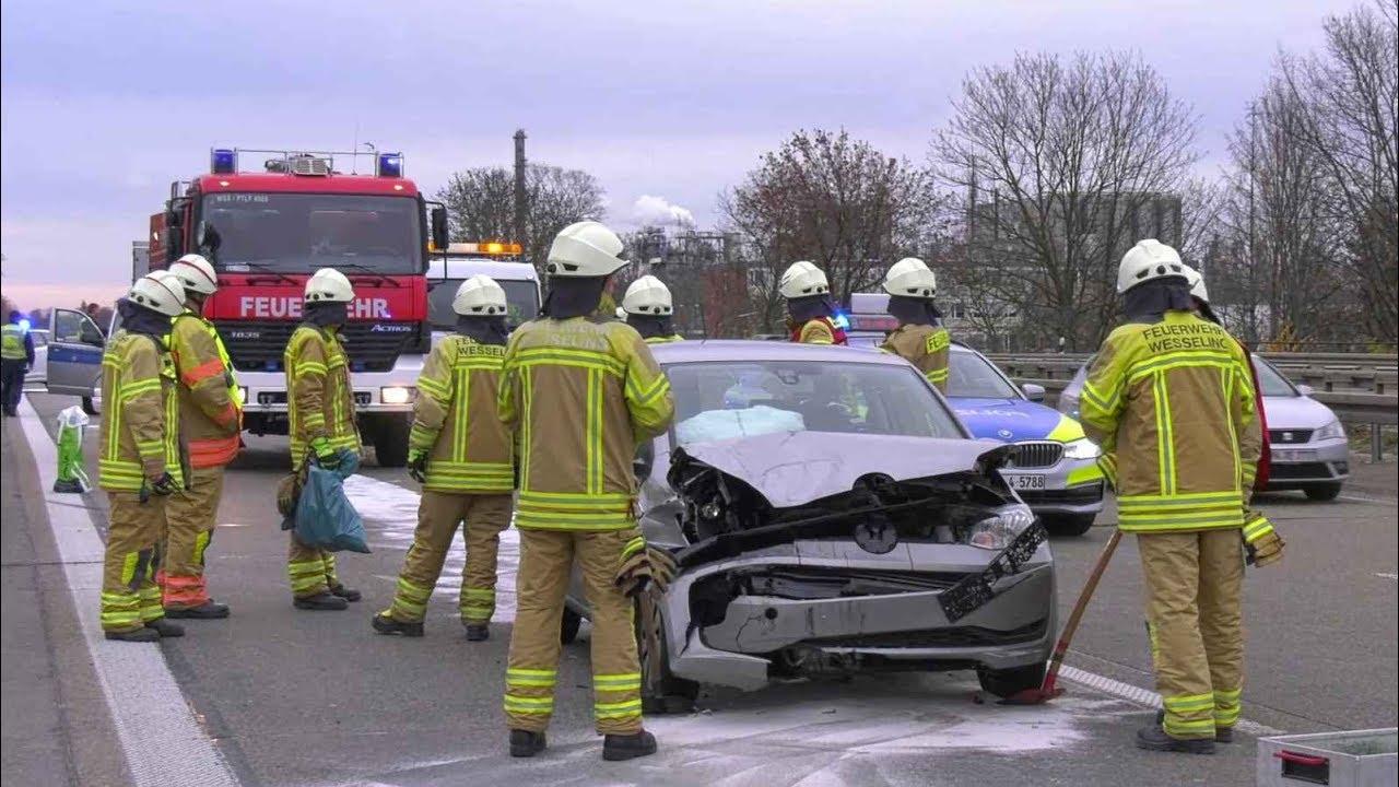 A555 Unfall