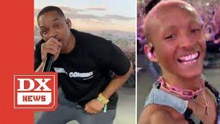 Jaden Smith Brings Out His Dad At Coachella