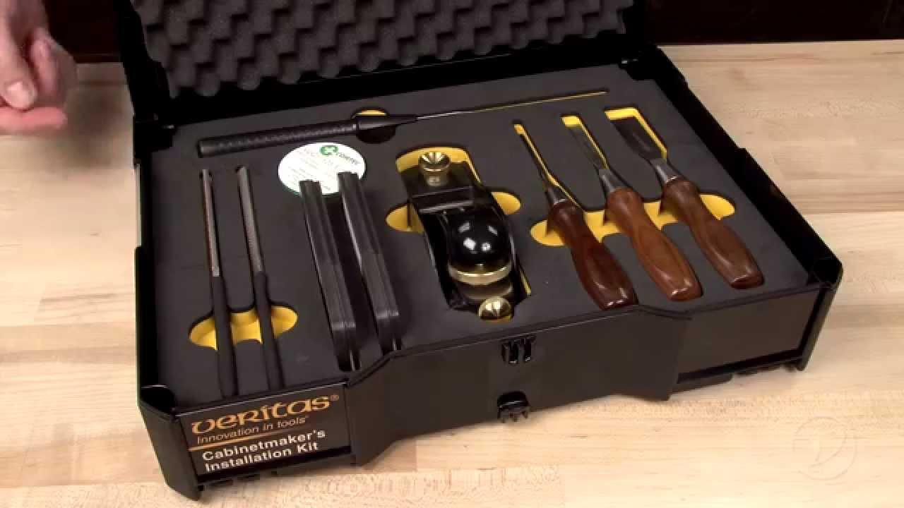 Veritas Cabinetmaker S Installation Kit Youtube