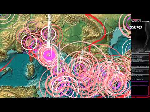 9/18/2017 -- West Pacific Earthquake Activity as expected -- Be ready for larger movement this week - 동영상
