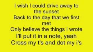Drive Away - All American Rejects