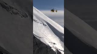 Il video dell'intervento sulla parete ghiacciata