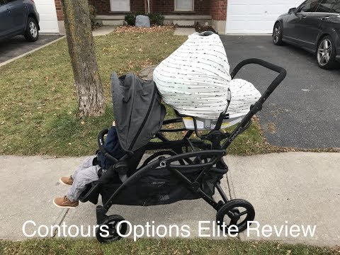 Contours Options Elite Tandem Double Stroller Review
