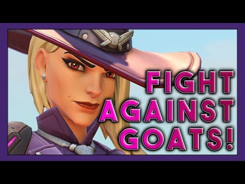 3 Stack's Ongoing Fight Against Goats! (Seagull, Redshell, Harbleu) - Overwatch thumbnail