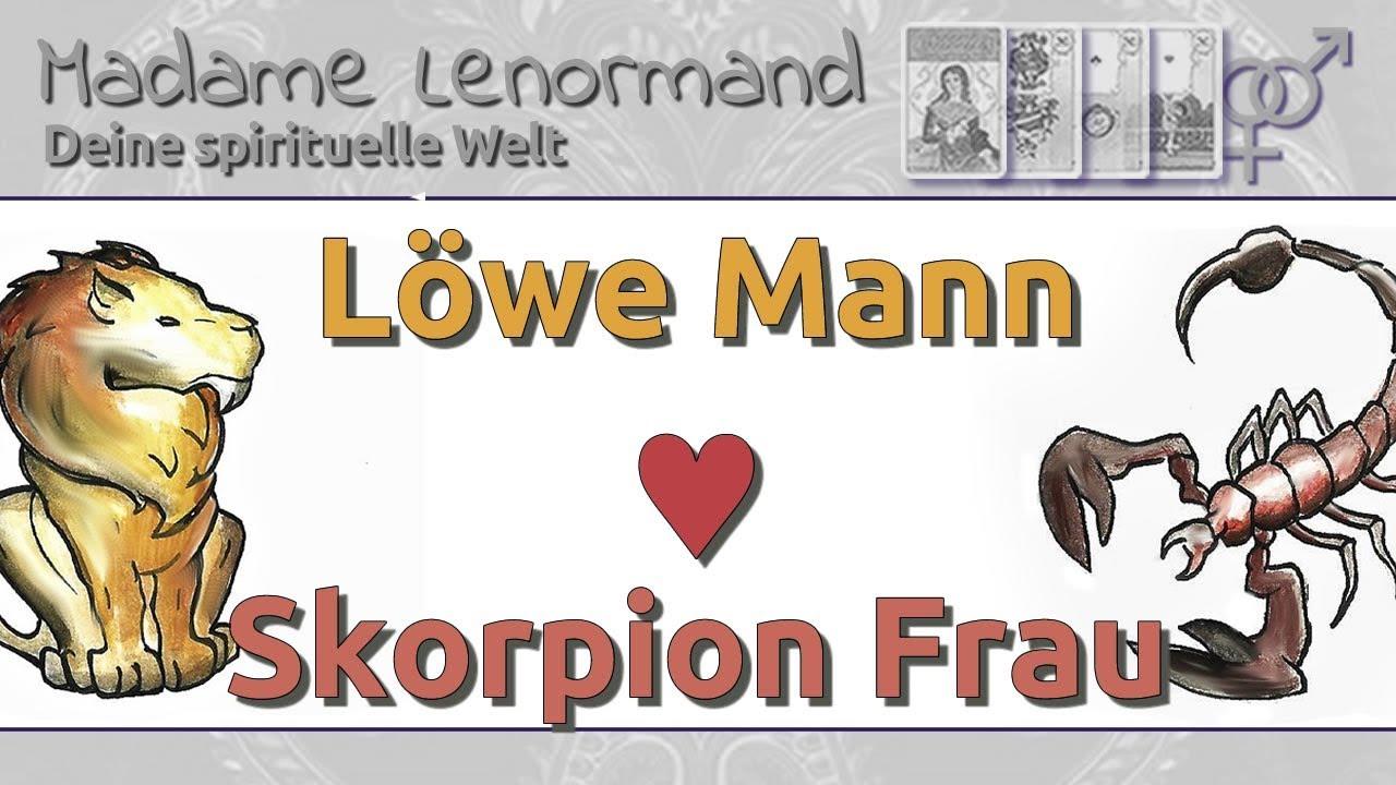 Leo Mann aus einer Skorpio-Frau