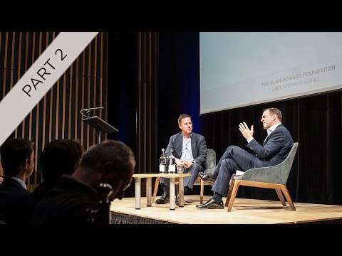 Part 2 of 4: Peter Thiel and Niall Ferguson –The Alan Howard Foundation / JW3 Speaker Series