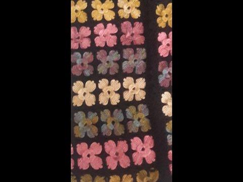 Tığ İşi Çiçek Motifli Yelek Modeli Yapılışı Videolu Açıklamalı