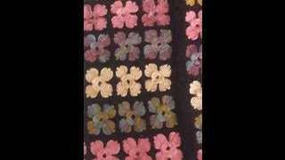 çiçek motifli yelek modeli