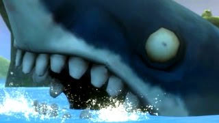 Plants vs. Zombies: Garden Warfare - Giant Shark Zombie Found! (PVZ GW)