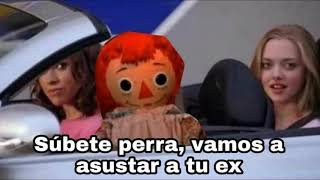 Annabelle se escapa del museo (Video Meme)