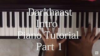 Darkhast Intro Piano Tutorial Part 1