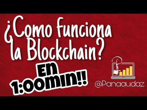Como funciona la Blockchain