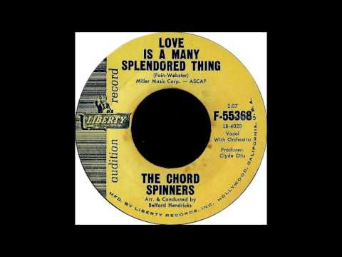 Call Me / Love Is A Many Splendored Thing -Chord Spinners - 1961. Liberty F-55368