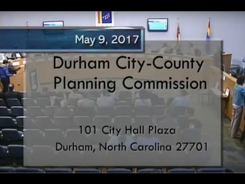 Durham Planning Commission May 9, 2017