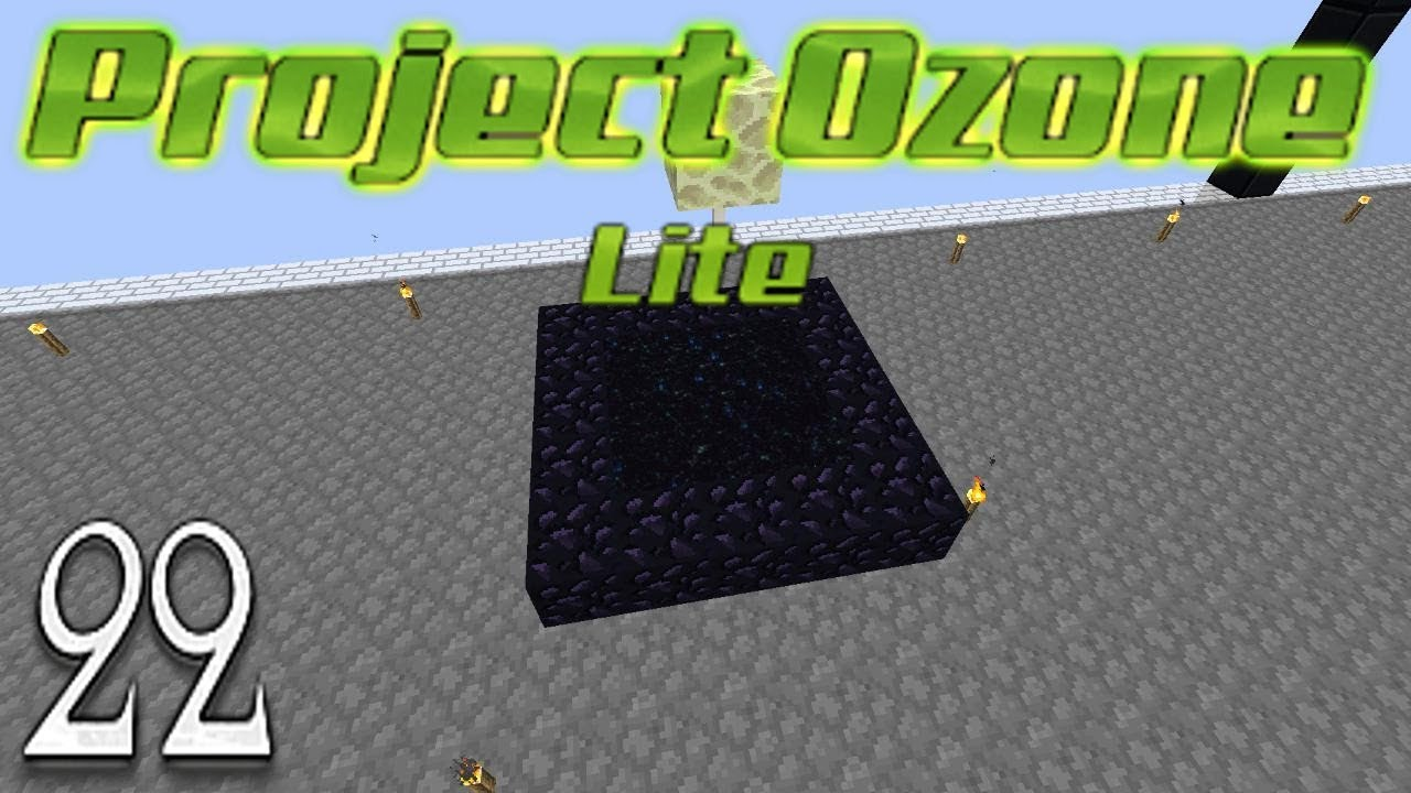 Minecraft Project Ozone Lite - More Power The End Portal And Im Back Online  !!! (22)
