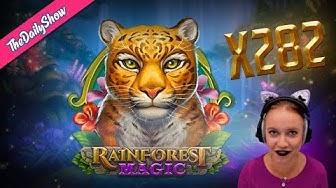 RAINFOREST MAGIC 🐯TRIGGERING 4 MYSTERY REELS 🐯 BIG WIN x282