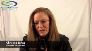 Christine Jones for Governor 2014 - Question 1