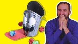 Çılgın Çöp Oynadık - Eğlenceli Oyun