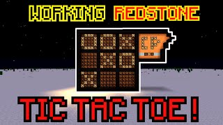 Redstone TIC TAC TOE with BOT-PLAYER ! Minecraft