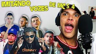 IMITANDO VOZES DE MC'S 4 (Mc Denny, Mc Fioti, Mc's Jhowzinho e Kadinho, Mc WM e Jerry Smith)