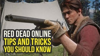 Red Dead Online Tips - What To Unlock Early, Smart Settings & More! (Red Dead Redemption 2 Onlin