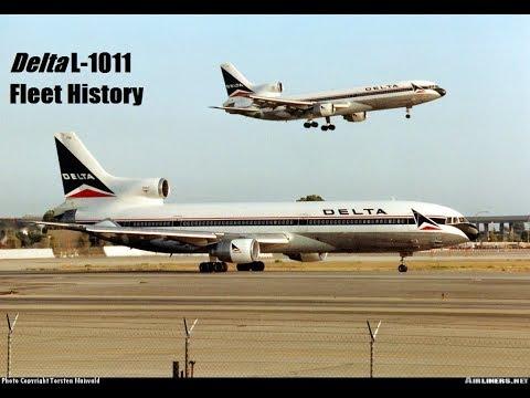 Delta Airlines Lockheed L-1011 Tristar Fleet History (1973-2001)