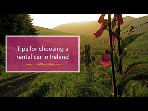 Tips for choosing a rental car in Ireland - Podcast Episode #155
