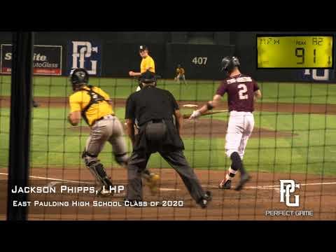 Jackson Phipps Prospect Video, LHP, East Paulding High School Class of 2020