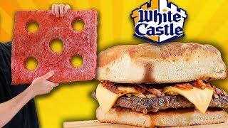 100 WHITE CASTLE BURGER!!