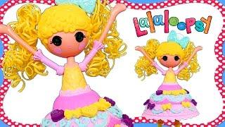 Lalaloopsy Dough Dress! Making Play Doh Cake Fashion on Candle Slice O