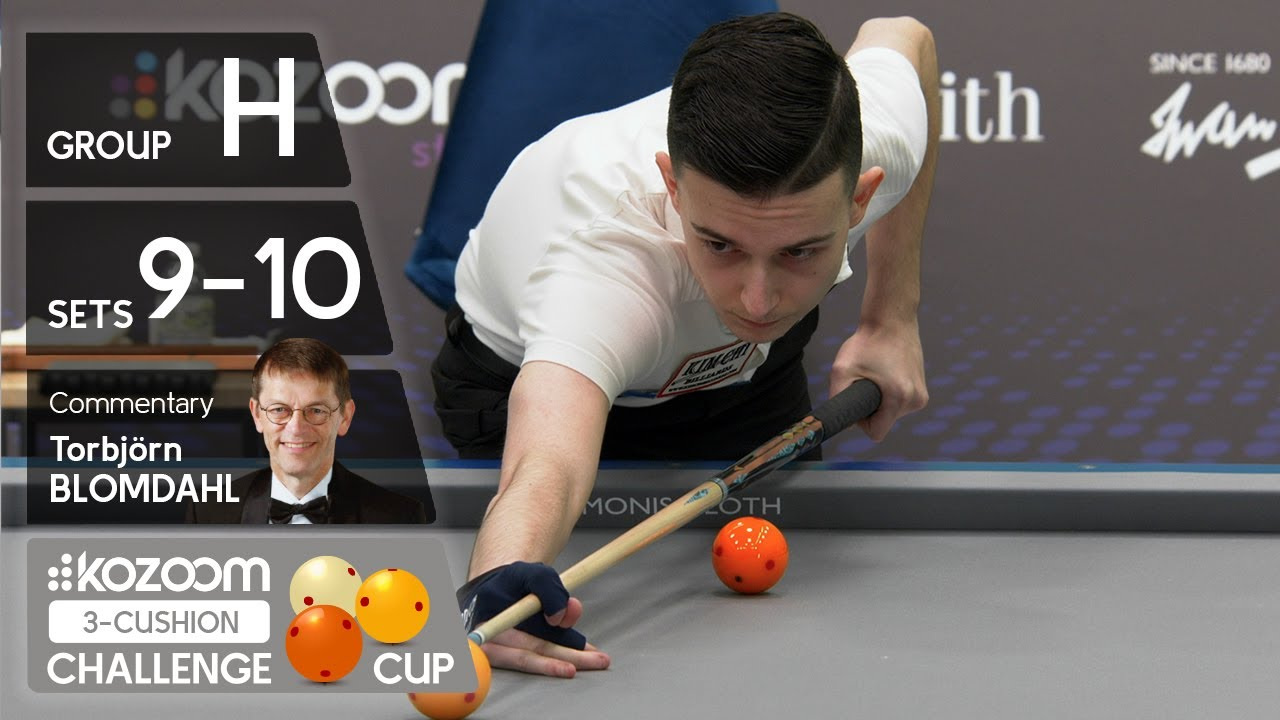 3-CUSHION Kozoom Challenge Cup - Group H - Sets 9&10
